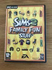 Die Sims 2 Family Fun Stuff PC Expansion Pack Schneller Versand
