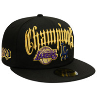 New Era Los Angeles DODGERS LAKERS Dual Champions 59FIFTY Fitted Hat Size 7
