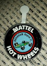 Hotwheels Redline Original 1969 Brabham Repco F1 button badge