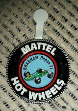 Hotwheels Redline Original 1969 Brabham Repco F1 button badge