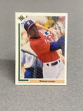 Michael Jordan 1991 Upper Deck Baseball Rookie Card #SP1