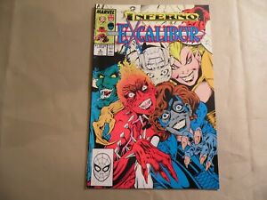 Excalibur #6 (Marvel 1989) Free Domestic Shipping