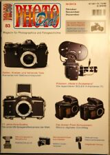 PHOTO DEAL Photodeal Heft 83 4/2013, Bolex, Kine-Exakta, OM-1, Vitrona, Cludor