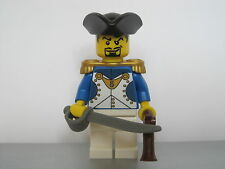 Lego PIRATES NAPOLEONIC WARS FRENCH NATIONAL GUARD Infantry Officer MINIFIG