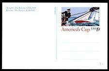 STATI UNITI - USA - Intero postale - 1992 - Coppa America