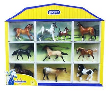 Breyer 1:32 Stablemates 10-Piece Shadowbox Model Horse Set
