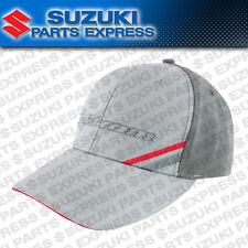 NEW SUZUKI V-STROM LONG ROAD SNAPBACK HAT GREY VSTROM DL 650 1000 990A0-17143