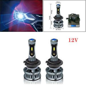 H7 60W LED Car Headlight Bulbs Highlight Fog lamp Devil eye  P67 Lamps 7200lm