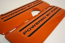 2011-2017 Mustang 5.0 OEM Coil Covers Painted Competition Orange Black Letters