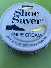 Kiwi Shoe Saver 1.6oz Jar Shoe Boot Cream Navy Blue VINTAGE OLD STOCK