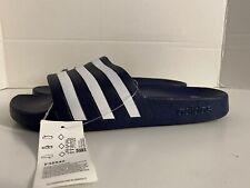 Adidas Adilette Aqua Slides Sandals Slipper Navy F35542 Men's Size 9