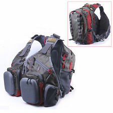 Maxcatch Fly Fishing Vest Mutiple Function Backpack Bag For Outdoor sports