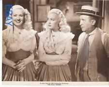 Betty Grable June Haver The Dolly Sisters VINTAGE Photo