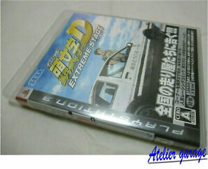 USED SONY PS3 Initial D Extreme Stage Reversible Jacket Version Japanese SEGA