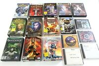 World Of Warcraft Expansion Sets plus PC for Computer Video Game Lot Fantasy 17