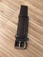 Nixon Time Teller Replacement Band Genuine Leather Brown Ostrich Limited Rose 19