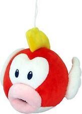 Super Mario Bros Pukupuku Cheep Cheep Fish Plush Doll Soft Figure Toy Gift -6 In