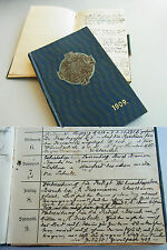 Tagebuch-Kalender AUGSBURG & MURRHARDT 1909/10. METHODISTEN-Prediger A. Barnikel