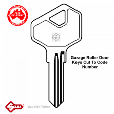 BnD Garage Roller Door Keys Cut Code Number -Gliderol, B&D, Lenlok -FREE POST