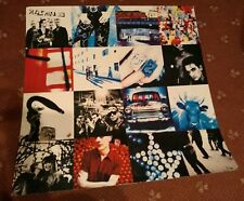 More details for u2 achtung baby very large record shop promo display 80x80 cm 1990's rare