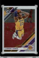 2019-20 Panini Donruss Optic #60 LeBron James Los Angeles Lakers MVP GOAT 📈