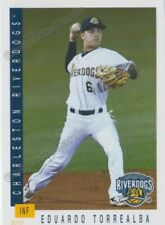2019 Charleston RiverDogs Eduardo Torrealba RC Rookie NY Yankees VZ