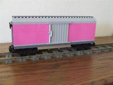 NEW City Cargo Train Custom Built w/ New Lego Bricks fits 9V RC Track Rail Sets