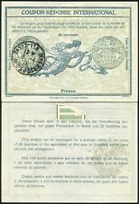 FRANCE REPLY PAID COUPON IRC 1915 RUE AMSTERDAM 30c