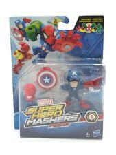 figurine marvel super hero mashers micro captain america 6 cm neuve hasbro