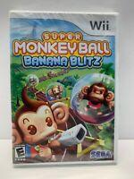 Nintendo Wii Super Monkey Ball Banana Blitz Video Game Sega