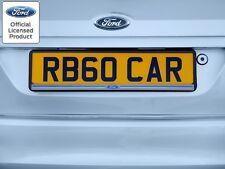 2x neri ABS Numero Targa circonda HOLDER FRAME PER FORD FOCUS MK3 MK4 MK5