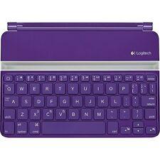Logitech Ultrathin Keyboard Cover Purple for iPad Mini Mini 2 Mini 3