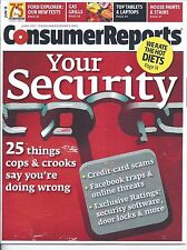 Consumer Reports Magazine June 2011 Security Ford Explorer Gas Grills Tablets