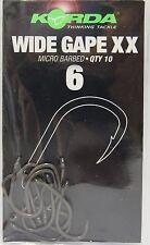 Korda Wide Gape Gr 4 KWG4 Karpfenhaken Carp Hook Haken TOP//NEU