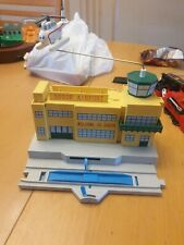 Sodor Airport with harold Trackmaster Tomy, Thomas & Friends Tank Engine
