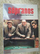 The Sopranos - The Complete Fourth Season (Dvd - Hbo- 4-Disc Set)