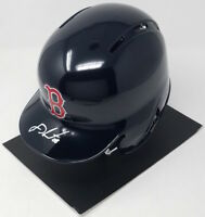 J.D. MARTINEZ Autographed Boston Red Sox Left Ear Flap Batting Helmet STEINER