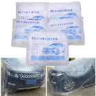 5 Pack Disposable Clear Plastic Car Cover Temporary Universal Rain Dust Garage