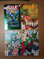 Hulk 2099 #1,2,6 and #8-Hulk vs Wolverine-Infinity War-Todd McFarlane-Professor