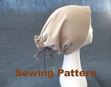 dreads hat, tube hat for dreads, dreadlock hat beanie, SEWING PATTERN, PDF FILES