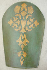 Disney Prince of Persia Movie Prop Green Leather Shield LARP SCA Medieval E