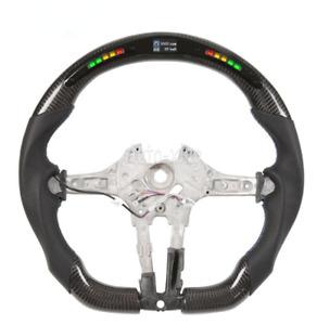 Carbon Fiber Smart Led Customized Steering Wheel for BMW M1 M2 M3 M4 F80 F82 X5