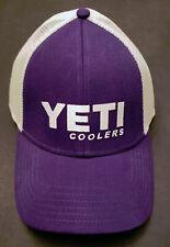 YETI Hat Purple/White Discontinued, Hard to Find