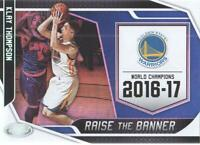 2019-20 Certified Basketball Raise the Banner #2 Klay Thompson