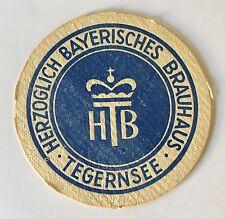 Bierdeckel Herzoglich Bayerisches Brauhaus Tegernsee