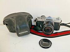 Vintage Konica Autoreflex T3 Camera & Konica Hexanon AR 50mm F1.7 Camera  (A2)
