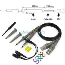 2pcs P6100 100mhz Oscilloscope Scope Clip Probe 100mhz For Tektronix Hp Ca