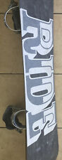 Ride Fleetwood 162cm Snowboard With Bindings, Free Shipping