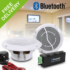e-Audio Wireless Bluetooth Home Bathroom Moisture Resistant Ceiling Speaker Kit