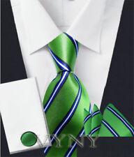 "New ""VYNY"" JACQUARD WOVEN Men's Neckties Tie+Hanky+Cufflinks Sets (VS111)"